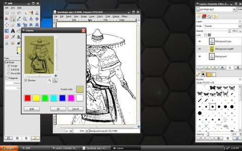 How to Digitally Color Your Manga, Anime or Comic Book Character