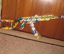 My Knex AK- 47 model
