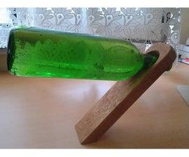 Wooden Magic Bottle Holder