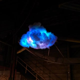 IR Remote Controlled Color Changing Cloud (Arduino)