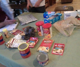 Freezer Bag Cooking for Backpacking using only Supermarket Ingredients