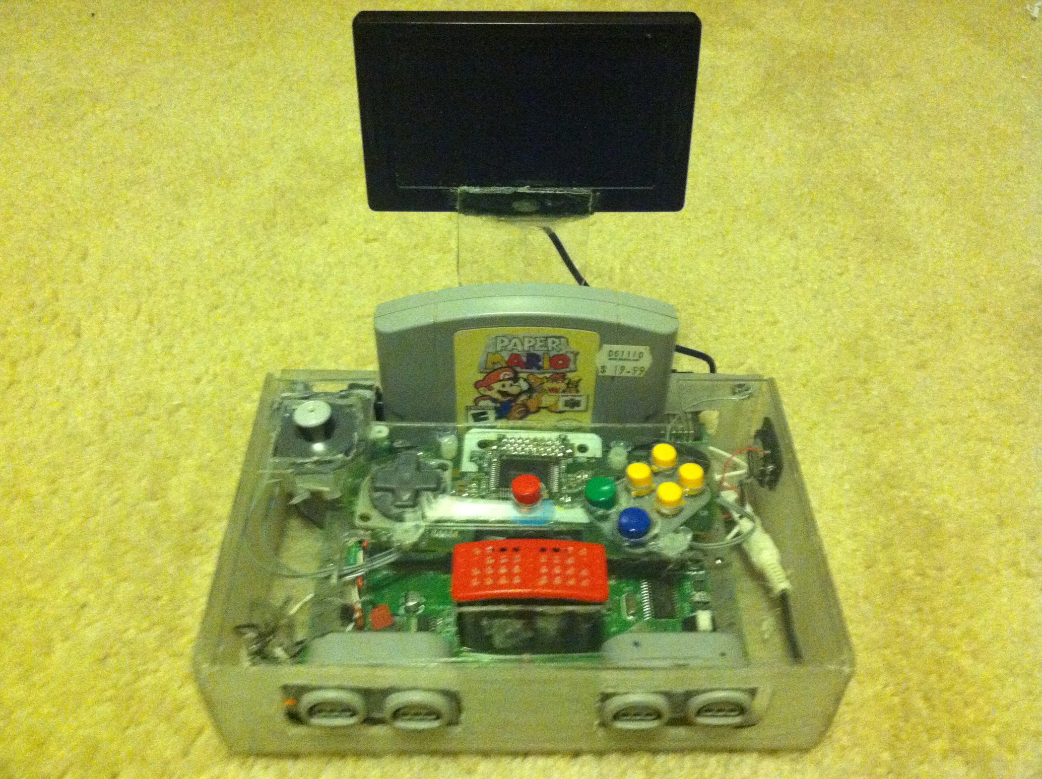 Nintendo 64 Wiring Diagram Library Nes Schematic How To Make A Portable Steps 8 With Pictures