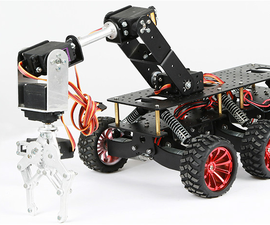 6WD Shock Absorption  Robot