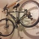 my DIY bicycle hanging system