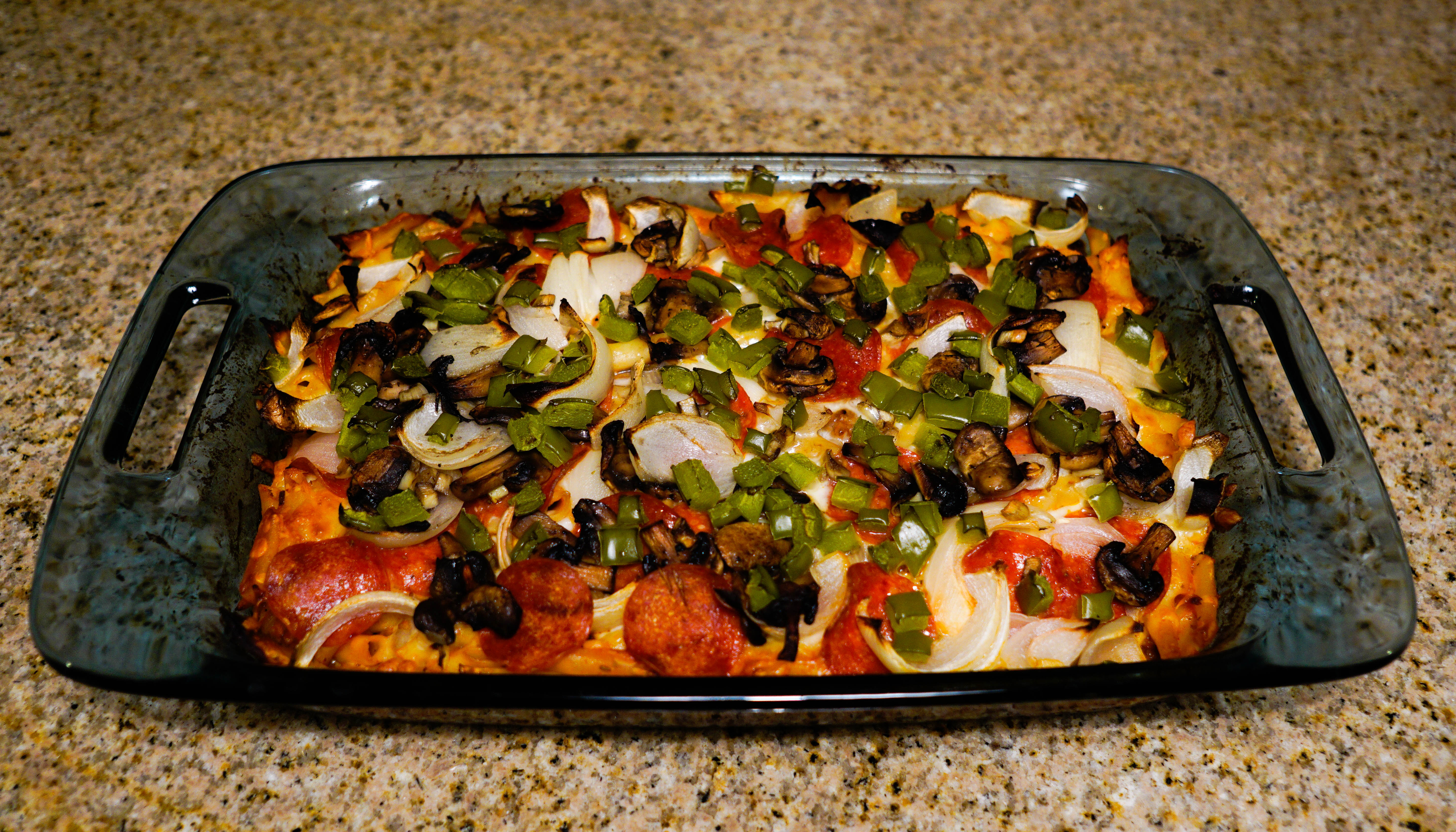 Picture of Penne Pasta Pizza Casserole