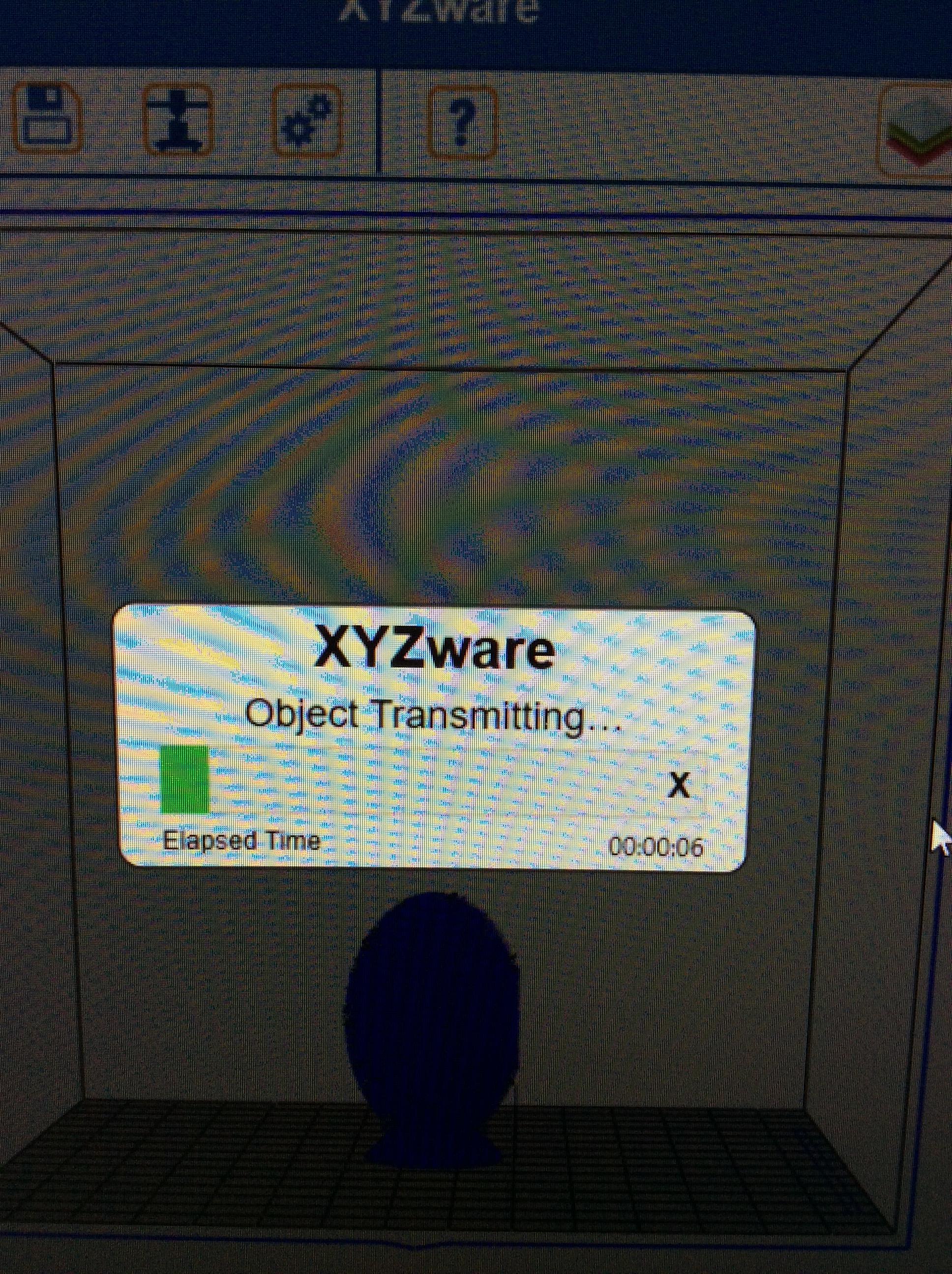 Picture of Filament Free Xyz Jr Printer
