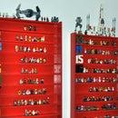 Lego Minifig Shelf