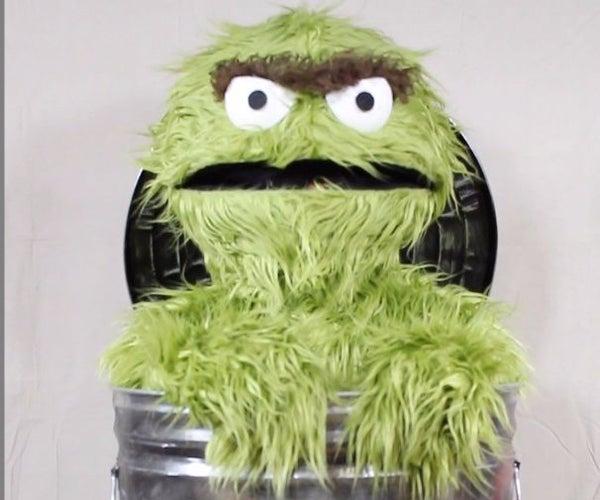 Oscar the Grouch - Costume