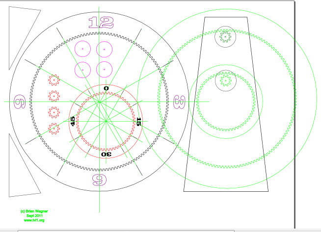 Picture of Using Inkscape to Draw Gears.