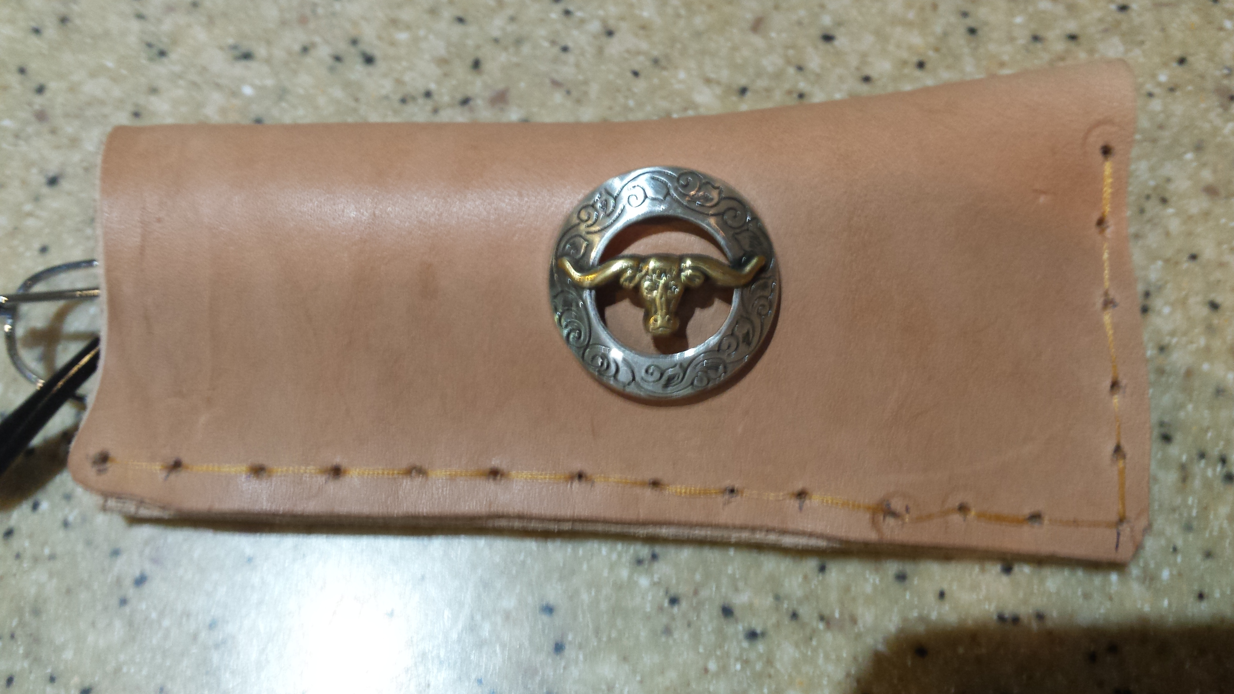 Picture of Leather Eye Glass Case, Box, Sunglass Case, Box