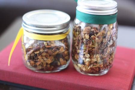 Pumpkin Seed Almond Granola