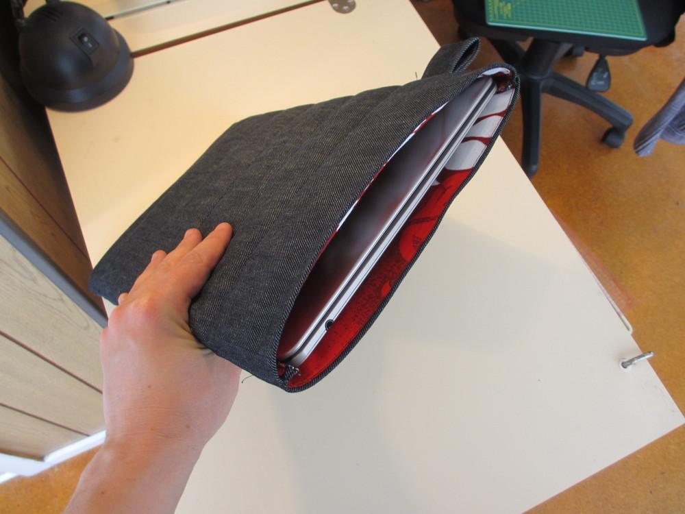 Picture of Denim Laptop Sleeve