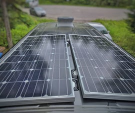 How to Install Solar Panel(s) on a Camper Van Conversion