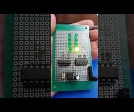 2-Digit Green Binary Counter