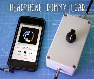 Headphone Dummy Load