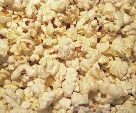 Kettle Corn Popcorn in a pot.