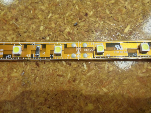 How to Solder Wires Onto a Common LED Strip