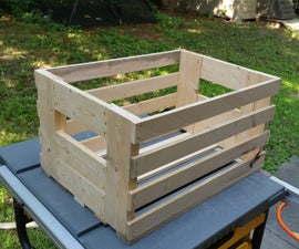 How to Make an $11 Crate with a $3 2x4