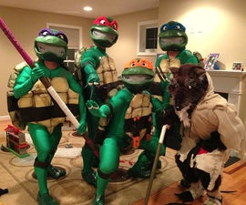 The Teenage Mutant Ninja Turtles Costume