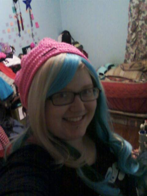 Picture of Crochet Ruffly Beanie