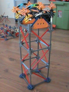 Building the Support Towers