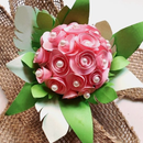 Recycled Egg-shell Flower Bouquet