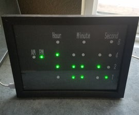 Wifi Binary Clock