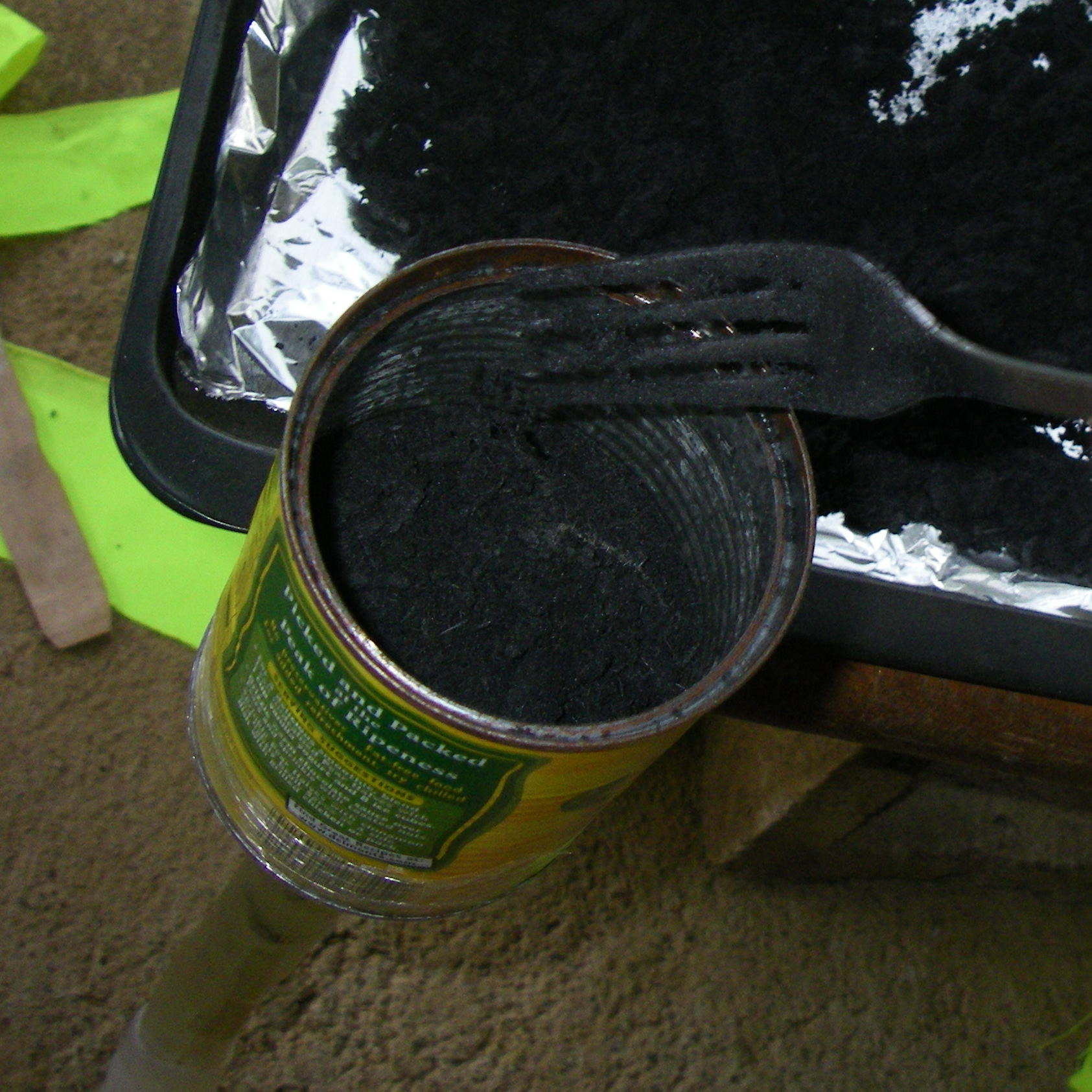 Picture of Pack the Can With Charcoal