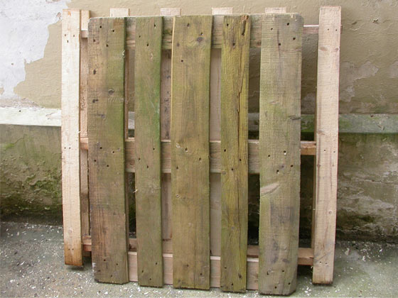 Picture of Breaking Down the Pallets
