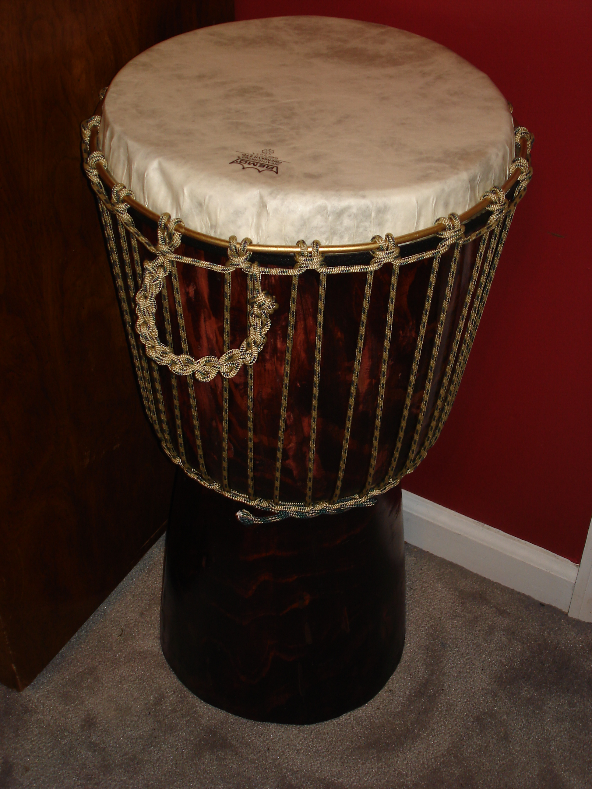 African Drum Coffee Table Build Your Own Djembe And End Table 8 Steps With Pictures