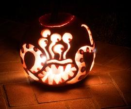 Sea Monster Pumpkin