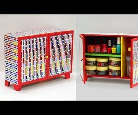Beautiful DIY Organizer Cupboard From Cardboard?