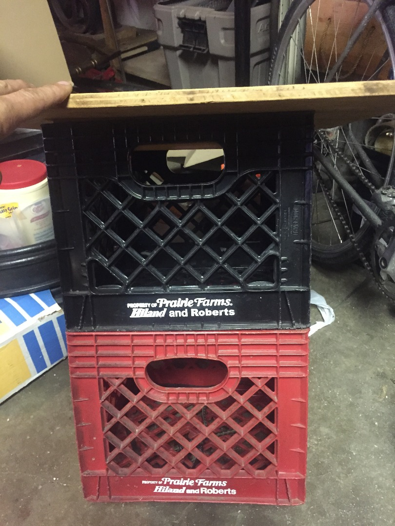 Picture of Place Top on Milk Crate