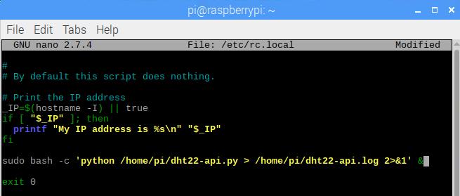 Run Python Script Automatically on Raspberry Boot Up