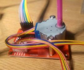 Arduino Stepper Motor + Light Sensor + CODE