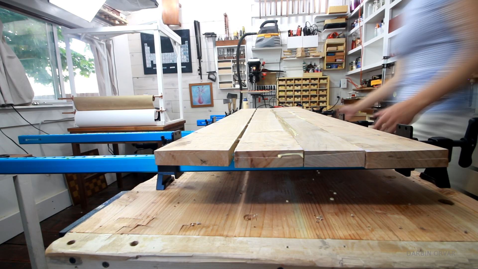 Picture of Dowels & Clamping