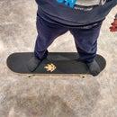 DIY Custom Grip Tape Already on a Skateboard!