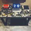"""Organized Mess"" Bedroom Desk"