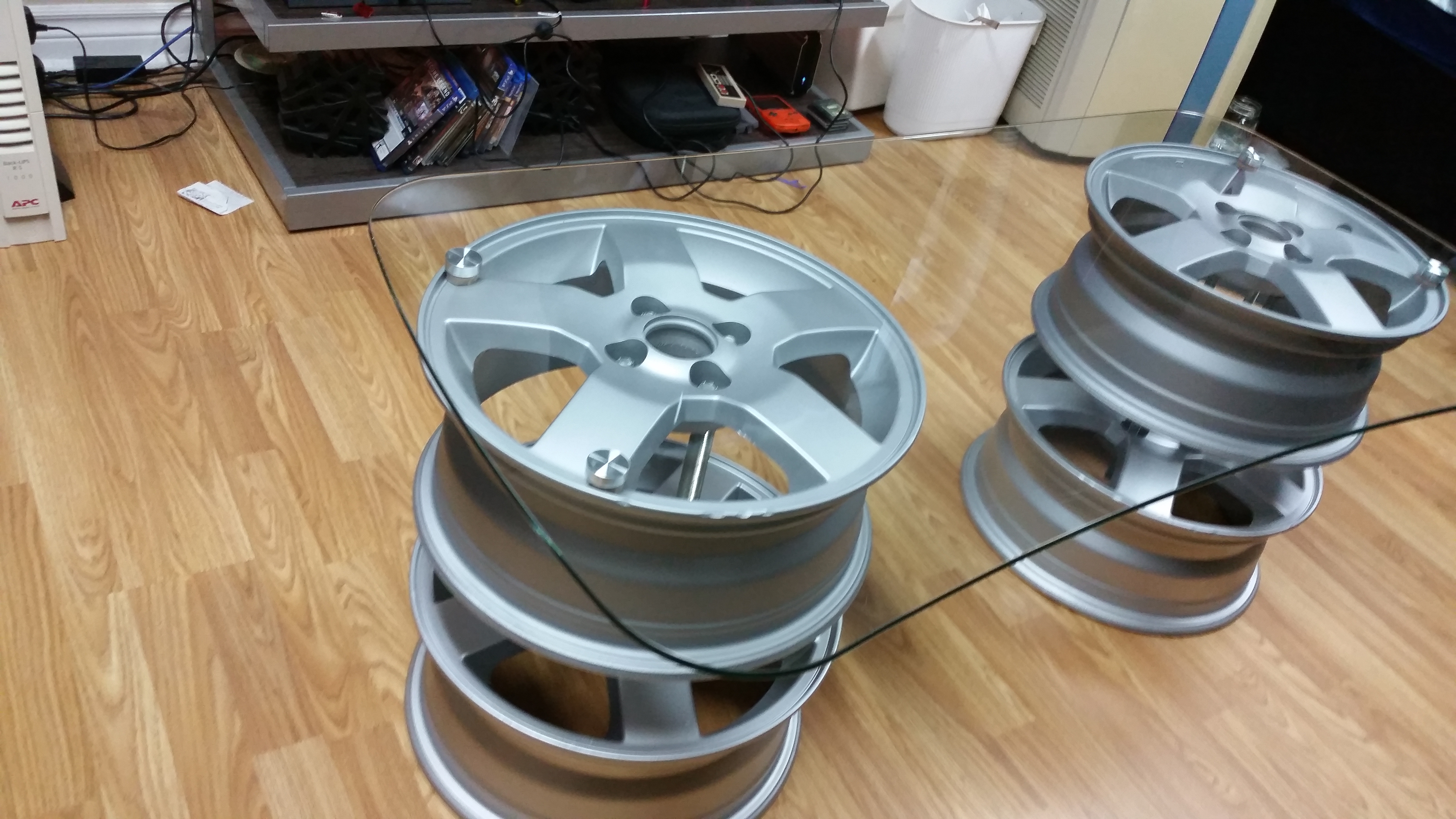 Cool Car Rim Coffee Table 8 Steps With Pictures Gamerscity Chair Design For Home Gamerscityorg