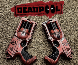 Deadpool Dual Wield Nerf Pistols Nerf Modification