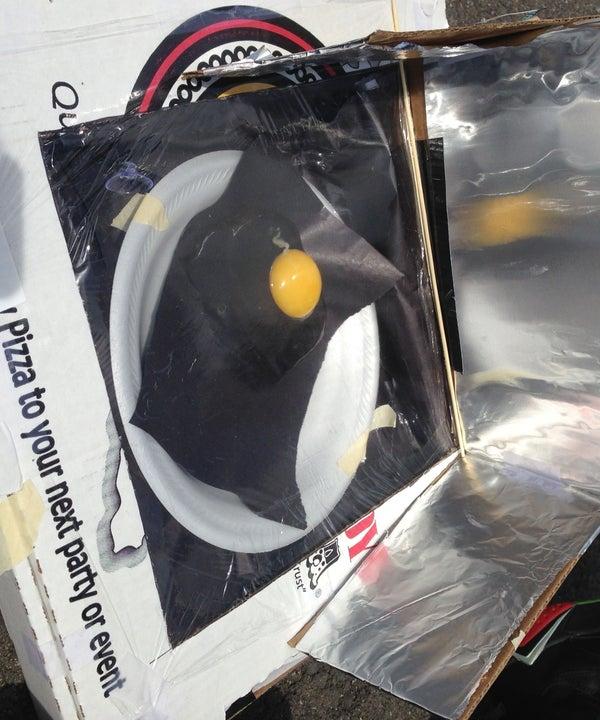 Effective Solar Oven
