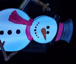 8 Foot LED Snowman
