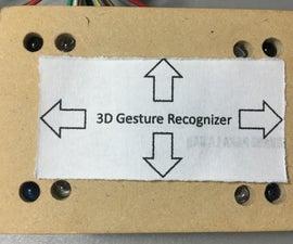 DIY Arduino 3D IR Gesture Sensor