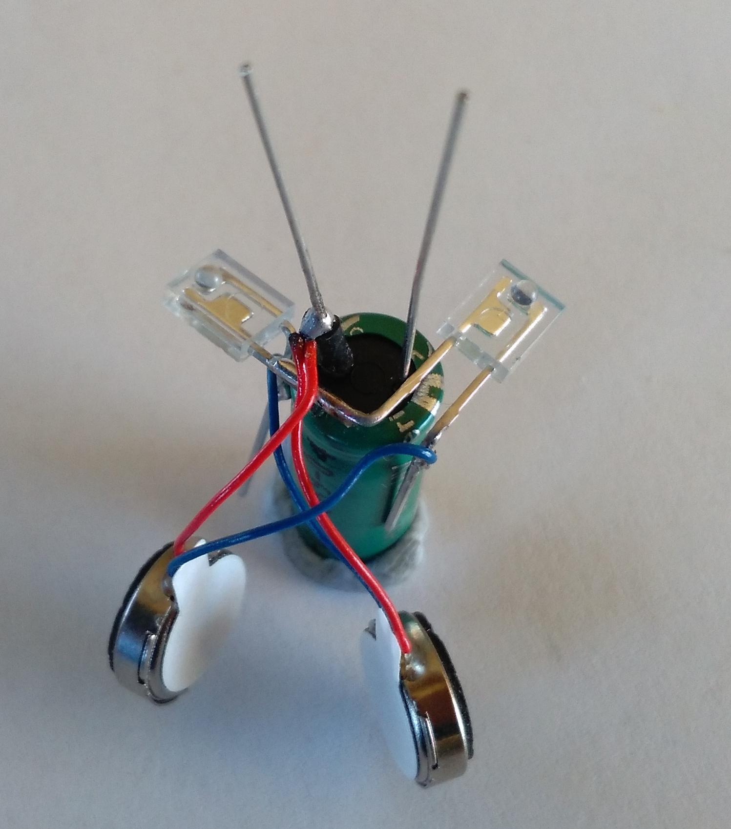 Picture of Building the Bot Unit: Motors Cont...