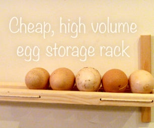 High Volume Egg Storage Rack