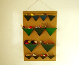 DIY Geometric Organizers