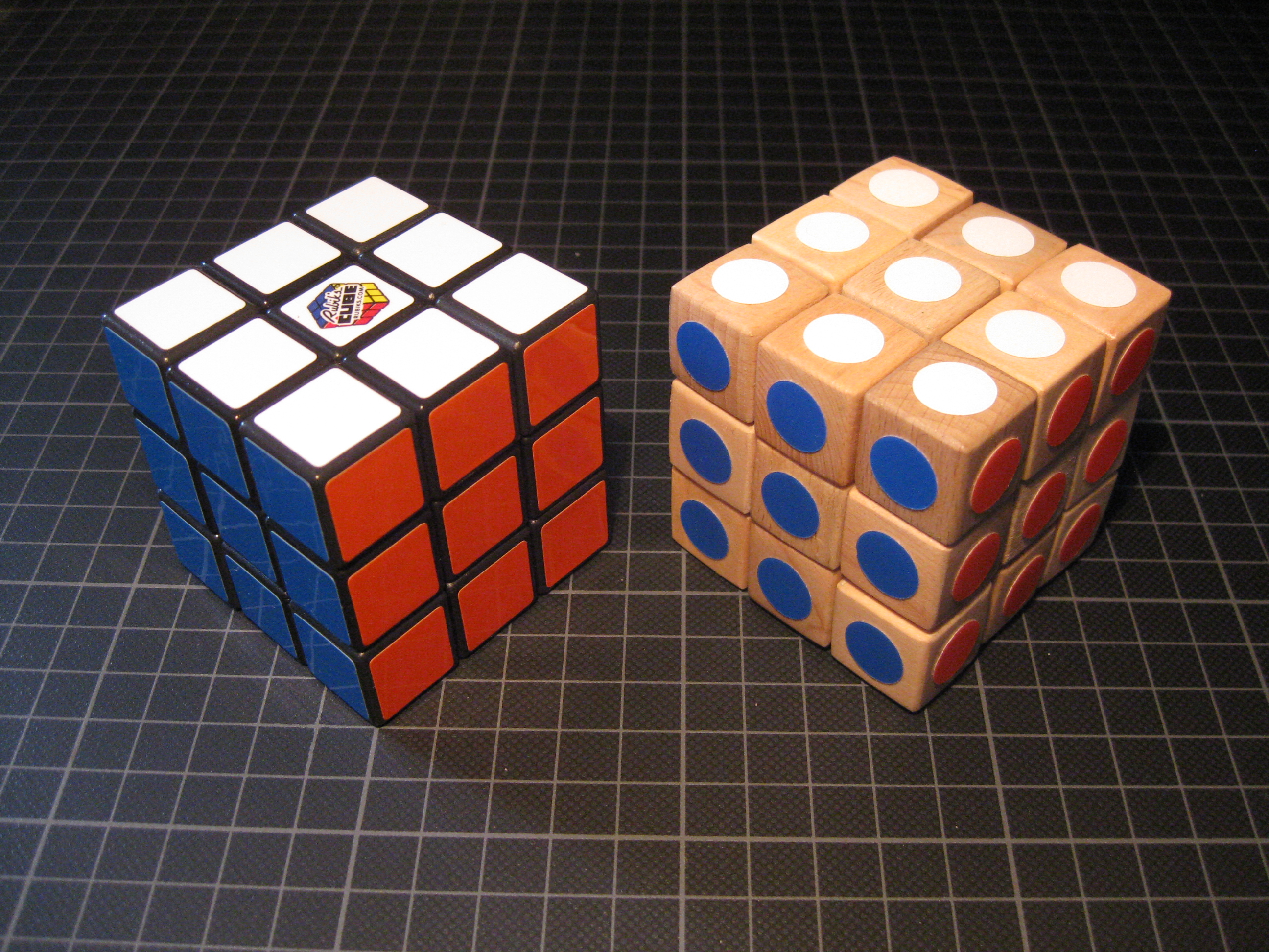 Picture of Rubik's Wood Cube