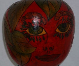 Apple Gourd Head