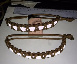 Reflective Paracord Bracelet