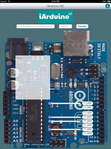 Setup IArduino App on IPhone, IPad or IPod for Use :